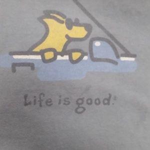 Life Is Good Dog Car